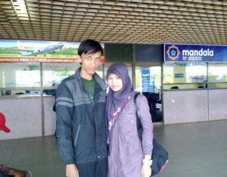 Mengantar Ke Bandara Hang Nadim Batam saat Kepulangan